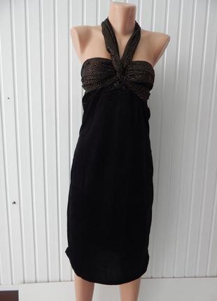 Вельветовое платье -трансформер avon