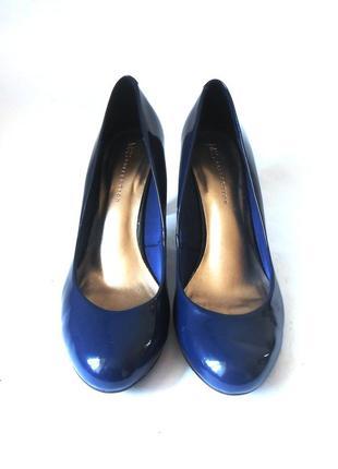 Элегантные лаковые туфли marks & spencer, р-р 41-42 код t41064 фото