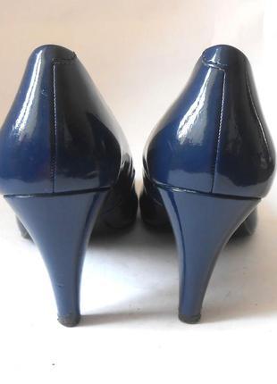 Элегантные лаковые туфли marks & spencer, р-р 41-42 код t41067 фото