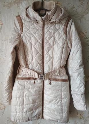 Пальто/куртка/курточка на девочку весна демисезон kiko 158р