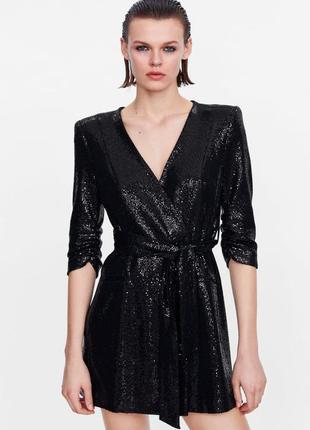 Вечернее платье блейзер  zara