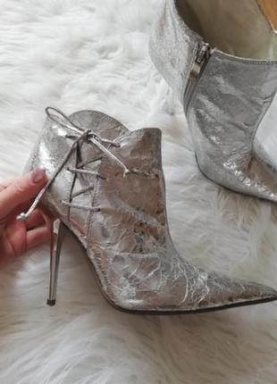 Кожанные ботиночки queen