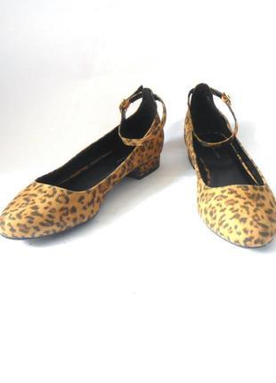 -70% !!! распродажа!!! фирменные туфли балетки new look, р-р 40 код t4083
