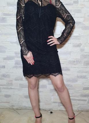 Очень красивое кружевное платье next