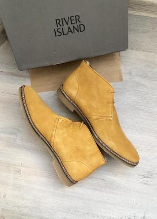 Новые мужские туфли дезерты river island