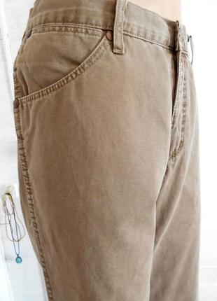 Мужские джинсы песочного цвета 33\32 классика,не заужены alaska