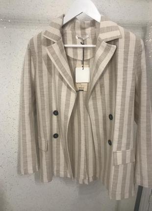 Просто идеальный льняной пиджачок