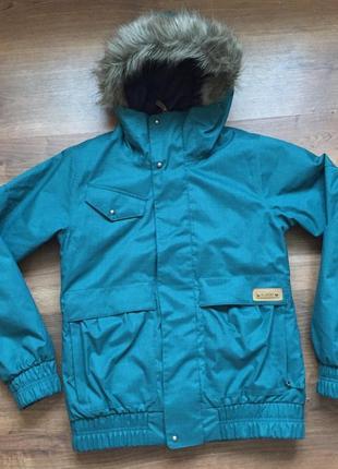 Шикарная куртка для повседневной носки и горнолыжного спорта burton