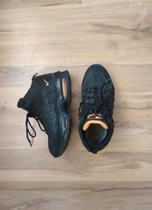 Зимние ботинки подростковые для мальчика стелька 25,5см nike air max