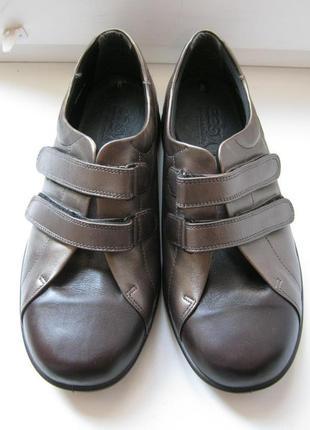 Ботинки easy, 100% натуральная кожа, размер 41,5-42, англия