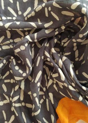 Брендовый шикарный шарф платок шаль marc o'polo