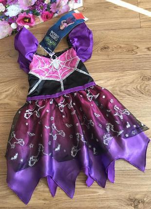 Крутое тематическое платье карнавальное бальное маскарадное