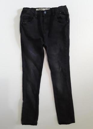 Фирменные джинсы скинни 10-11 лет