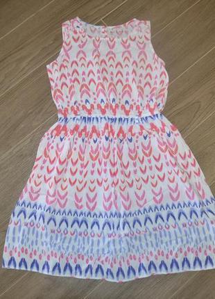 Тонкое платье ф. nutmeg р. 11-12 лет 146-152 см в новом состоянии