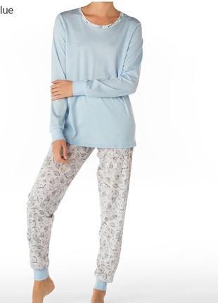 Calida-швейцария хлопковая пижама л