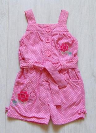 Нежный стильный ромпер для принцессы. matalan. размер 6-9 месяцев