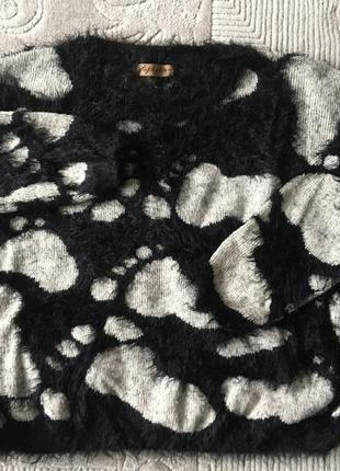 Милая кофта оверсайз французкого бренда sophyline / свитер оверсайз