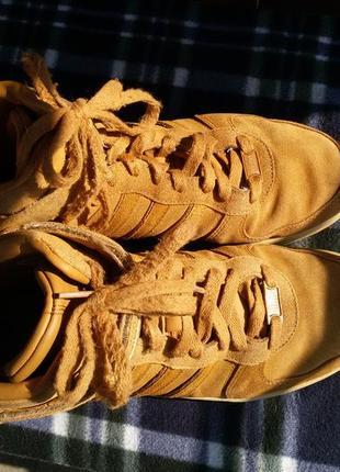 Шикарные спортивные ботинки натуральная кожа4 фото