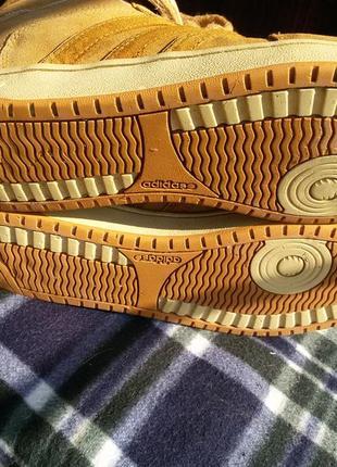 Шикарные спортивные ботинки натуральная кожа5 фото