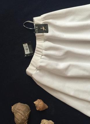 Белая юбка-солнце от atmosphere