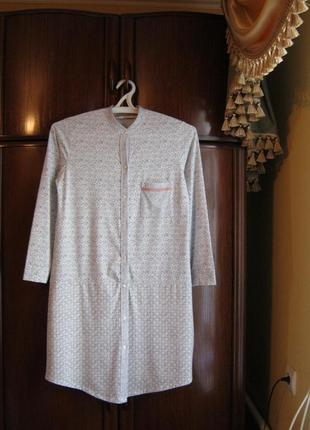 Халат-сорочка tu, вискоза, размер 10