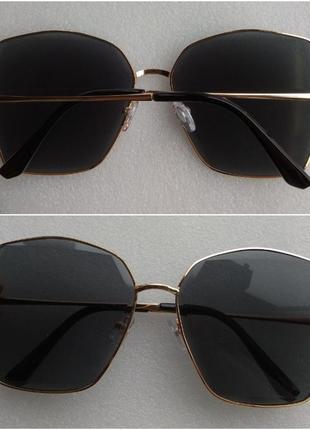 Новые крутые очки квадратные, черные