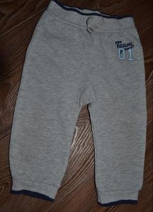 Спорт штаны мальчику george р.74-80 сост отл