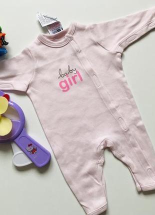 Фирменный слип для новорожденной с маленьким весом