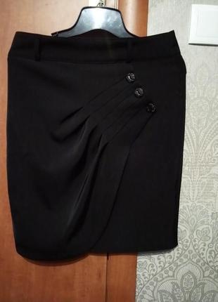 Классическая юбка до колен lucky look