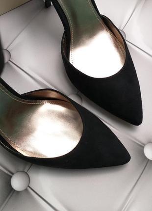 Joan & david оригинал туфли лодочки на шпильке замшевые бренд из сша8 фото