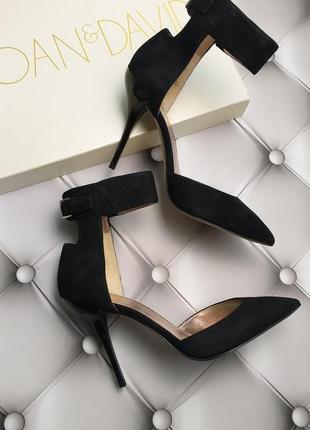 Joan & david оригинал туфли лодочки на шпильке замшевые бренд из сша