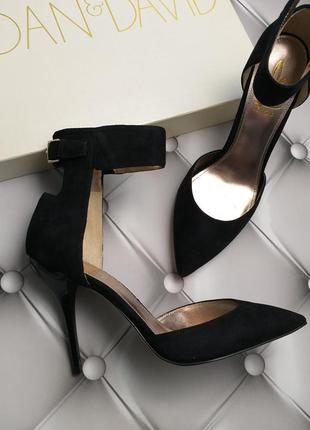 Joan & david оригинал туфли лодочки на шпильке замшевые бренд из сша9 фото