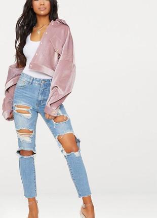 Рваные джинсы plt