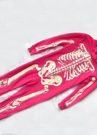 Стильный  комбинезон пижама с капюшоном young dimension
