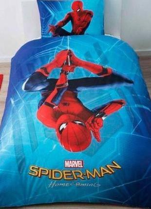 Дитяча постіль людина павук подростковая постель спайдермен tac disney spider-man