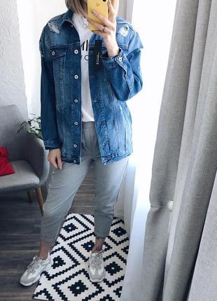 Джинсова куртка новинка 20191 фото