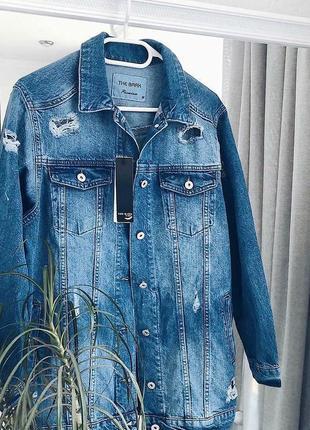 Джинсова куртка новинка 20195 фото