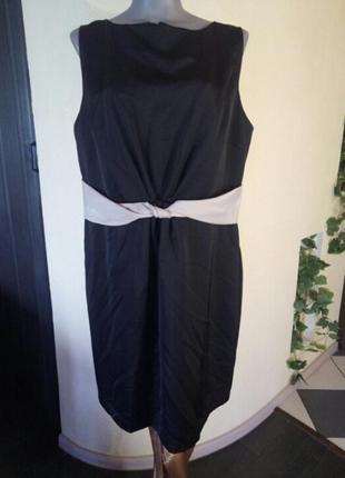 Платье-футляр,батал