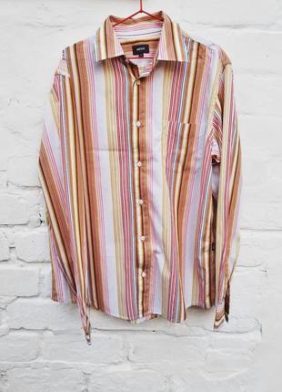 Рубашка в полоску от mexx, р. xl