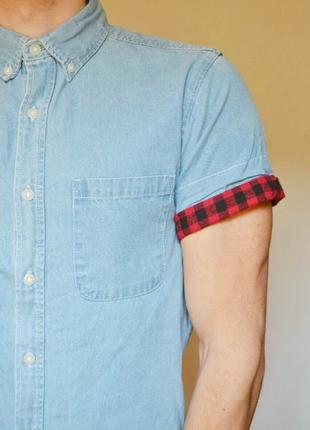 Стильна джинсова рубашка