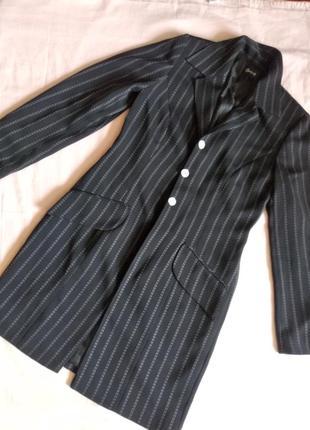 Кардиган swing (удлинённый пиджак)44-46см