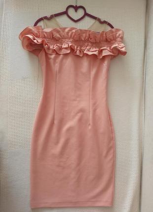 Нежное платье - футляр