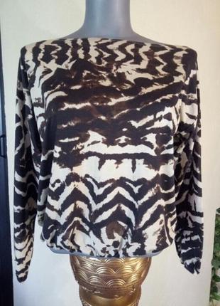 Классная трикотажная блуза,лонгслив
