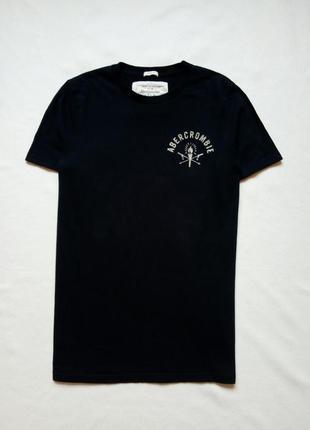 Темно-синяя футболка abercombie&fitch