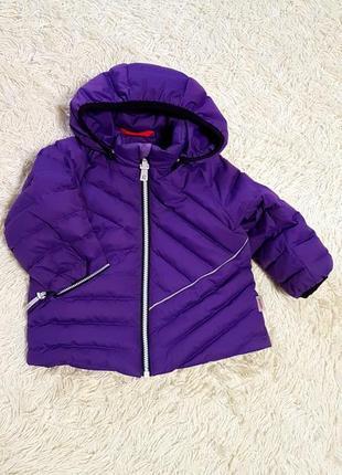 Зимняя пуховая куртка reima 80р