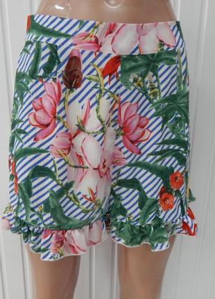 Летняя юбка-шорты