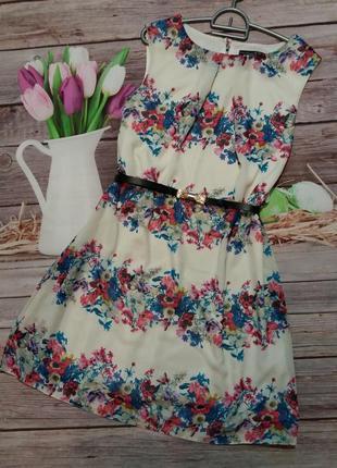 Легкое летнее платье шифон