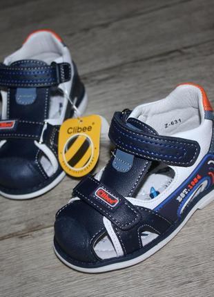 21й и 25й ортопедические кожаные босоножки сандалии ортопеды clibee
