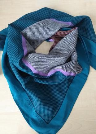 Roberto capucci дизайнерский шелковый платок