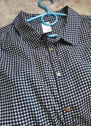 Шикарная офисная рубашка vila